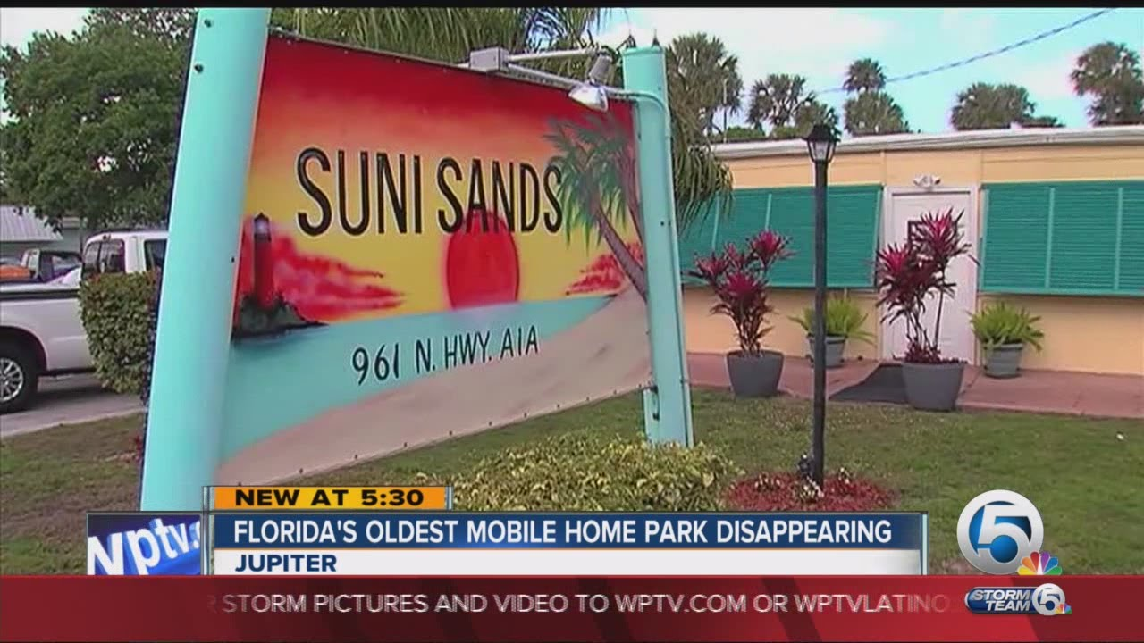 Floridas Oldest Mobile Home Park Disappearing