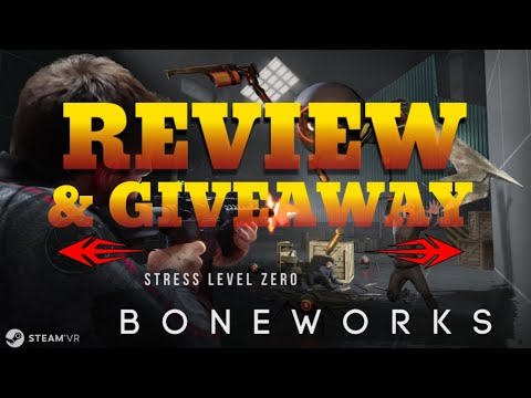 BONEWORKS REVIEW - Half Life VR & Max Payne VR are Friends with Benefits - Is it Any Good?