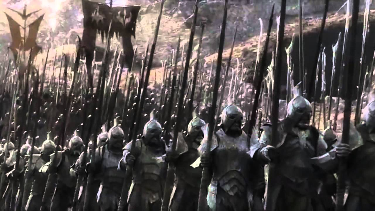 Lord Of The Rings Army