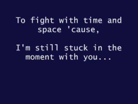 Justin Bieber - Stuck In The Moment ( lyric )