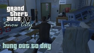 GTA IV Snow City Mission #9 - Hung Out To Dry