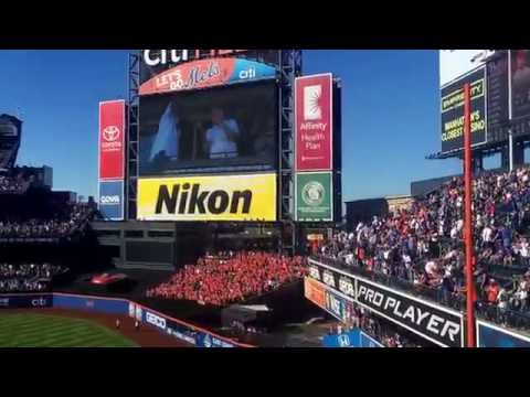 Seventh Inning Stretch at Citi Field: 2016