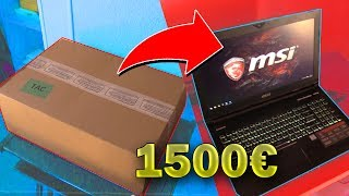 MON PC PORTABLE GAMER A 1500€ ! UNBOXING