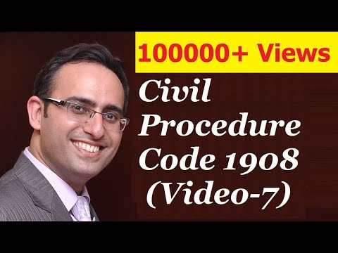 CPC 1908 [Video-7] - Doctrine Of Res Subjudice