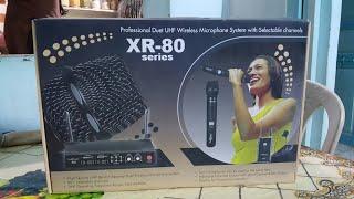 studiomaster xr 80 wireless microphone future xr 40 studio master detail