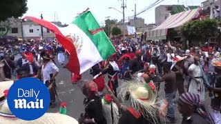 Mexicans in Pueblo re-enact victory over France on Cinco de Mayo - Daily Mail