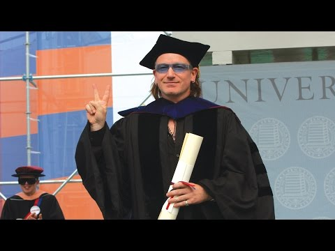 Bono Delivers Penn's Commencement Address