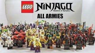 ALL Lego Ninjago Armies (2011 - 2017)