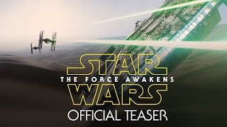 Star Wars: The Force Awakens Official Teaser(Get your first look at Star Wars: The Force Awakens in the new 88-second teaser. Episode VII in the Star Wars Saga, Star Wars: The Force Awakens, opens in ..., 2014-11-28T15:15:28.000Z)