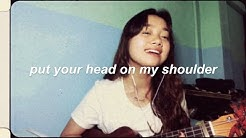 Put Your Head On My Shoulder - Paul Anka (ukulele cover)