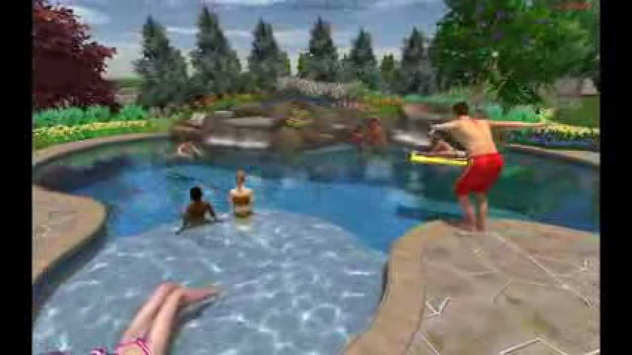 J I K C Natural Swimming Pool 12 19 12 Youtube
