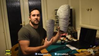Cosplay Tutorial - Winter Soldier Build part 2 - Arm Painting and Mask Making