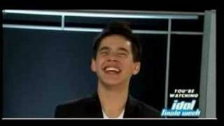 Archuleta shocks audience by saying he might be hit by a car