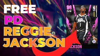 How To Get *FREE* PINK DIAMOND MOMENTS Reggie Jackson Card! Season 8 MyTeam!