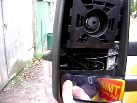 Replace Mirror Glass Mercedes Sprinter
