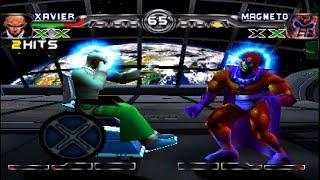 [TAS] Xavier VS Magneto (X-men: Mutant Academy 2)