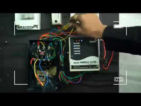 Ieyze Mobile Autoswitch Pro Mobile Motor Pump Starter Pune Youtube