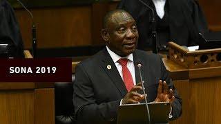 President Cyril Ramaphosa delivered his Sona address on 20 June 2019. Here is everything you need to know.