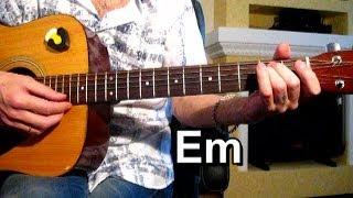 Темная ночь - Аранжировка для гитары Тональность ( Еm ) Как играть на гитаре песню