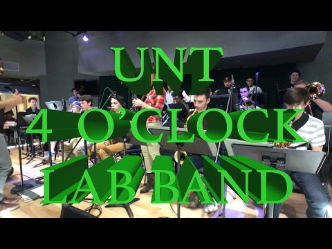 UNT: Four O'Clock Lab Band Set at the Student Union Syndicate (3/2/17)