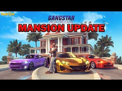GANGSTAR NEW ORLEANS - MANSION UPDATE GAMEPLAY ( House Level 2 )