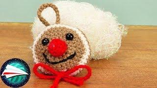 Bombka na szydełku | Gingerbread | buźka ludzika piernikowego | dekoracje świąteczne