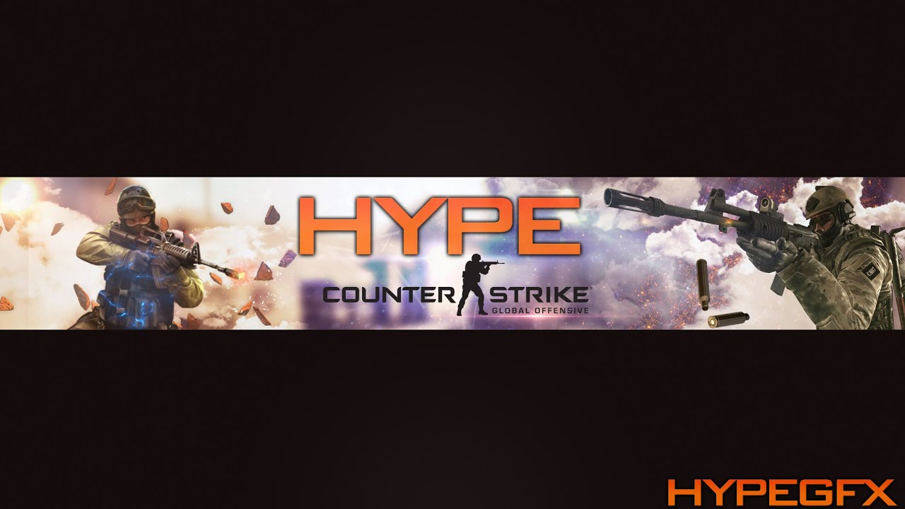 Free Template  Csgo Youtube Banner Ps Hd