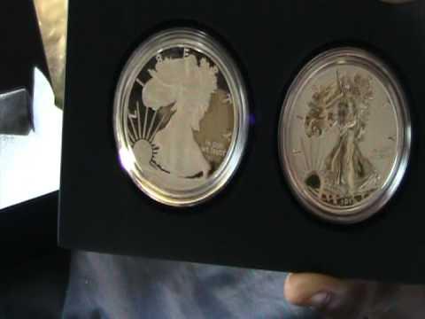 2012 American Eagle San Francisco Two Coin Set