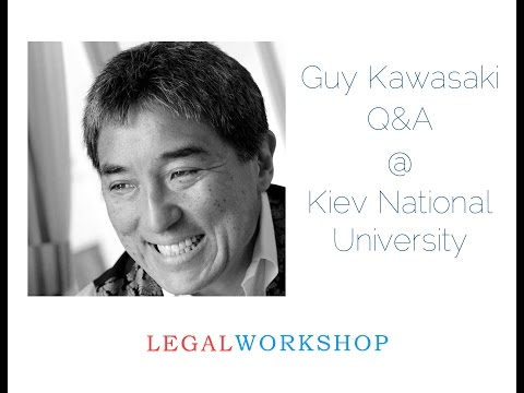 Guy Kawasaki Skype Q&A @ Kiev National University