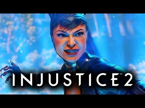 Injustice 2 Gameplay German Multiverse Mode - Catwoman Story