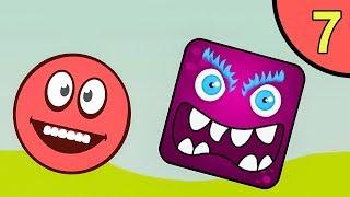 Несносный красный шар. Покатушки 7. Мультик ИГРА Red Ball 5 World на Игрули TV