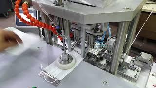 Jet Hızında Maske Lastik Kaynatma Makinesi 32 - 64 ad. / Dak.