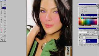 Part 3  KC Concepcion change eyes color, lips and a little face powder (Photoshop) Thumbnail