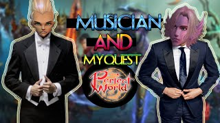 MUSICIAN AND MYQUEST Perfect world(Совместное видео)