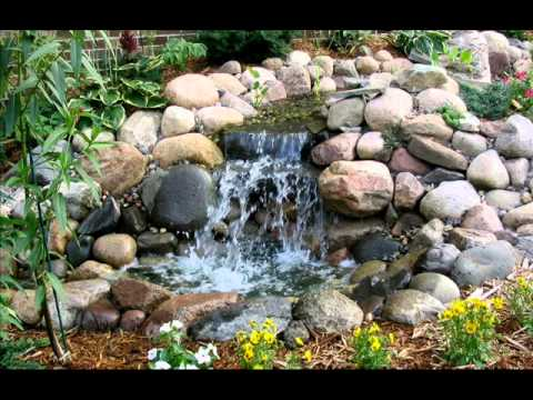 garden ponds and waterfalls small ponds and waterfalls youtube - Garden Waterfalls