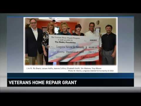 Veterans home repair grant