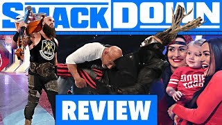 WWE SmackDown Review - BELLA CIAO - 21.02.20 (Wrestling Podcast Deutsch)