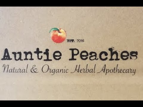 """"""" AUNTIE PEACHES """" MY NEW  FAVORITE APOTHECARY STORE"""
