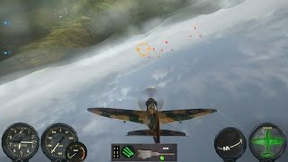 Combat Wings: Battle of Britain, Spitfire Gameplay