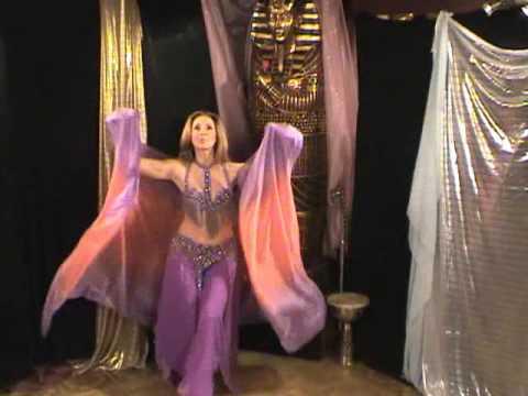 Belly Dance Veil Choreography - YouTube