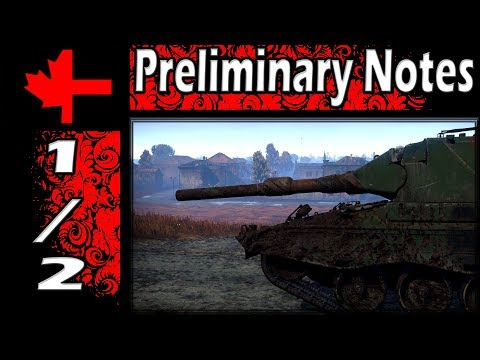 War Thunder - Updated Preliminary Notes Roundup - Update 1.77 - Part 1