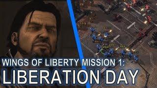 Starcraft II: Wings of Liberty Mission 1 - Liberation Day