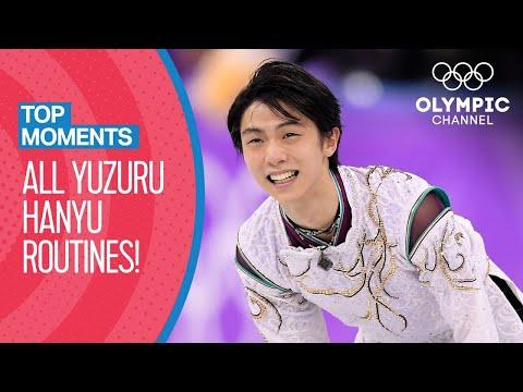 All Yuzuru Hanyu Olympic Routines | Top Moments