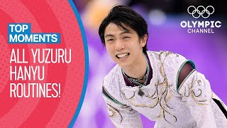 All Yuzuru Hanyu's Olympic Routines | Top Moments