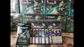 War of The Spark Booster Box opening! [MTGwebshopDK]