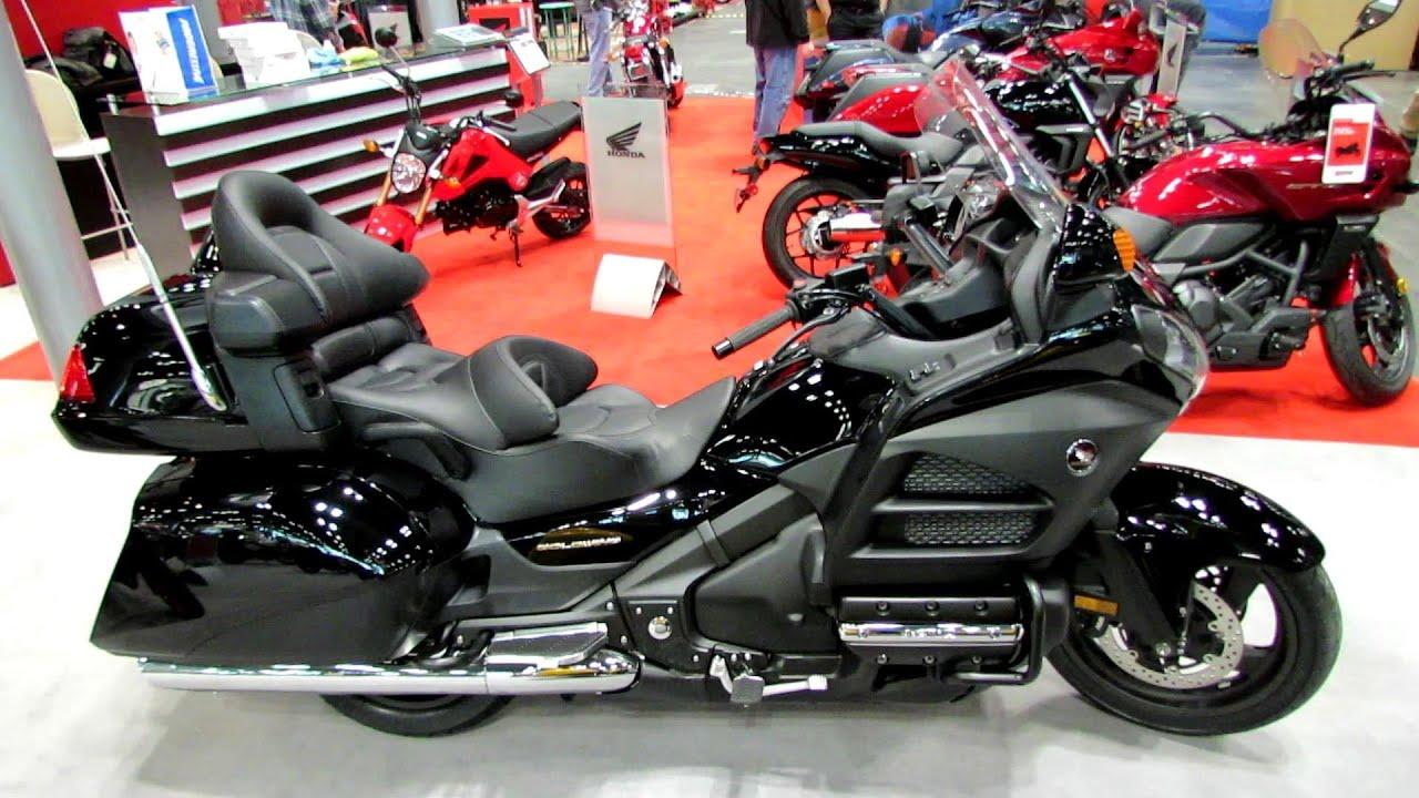 2014 Honda Gold Wing Walkaround - 2013 New York Motorcycle ...