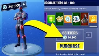 SPENDING 250,000 V BUCKS on SEASON 4 BATTLE PASS! (Fortnite Battle Royale)