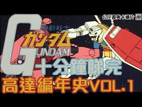 [廣東話講動漫] 10分鐘睇完元祖高達 高達編年史 Vol.1 Gundam Chronicles Vol.1 公仔書與卡通片 第五集 Comic & Cartoon Episode 5