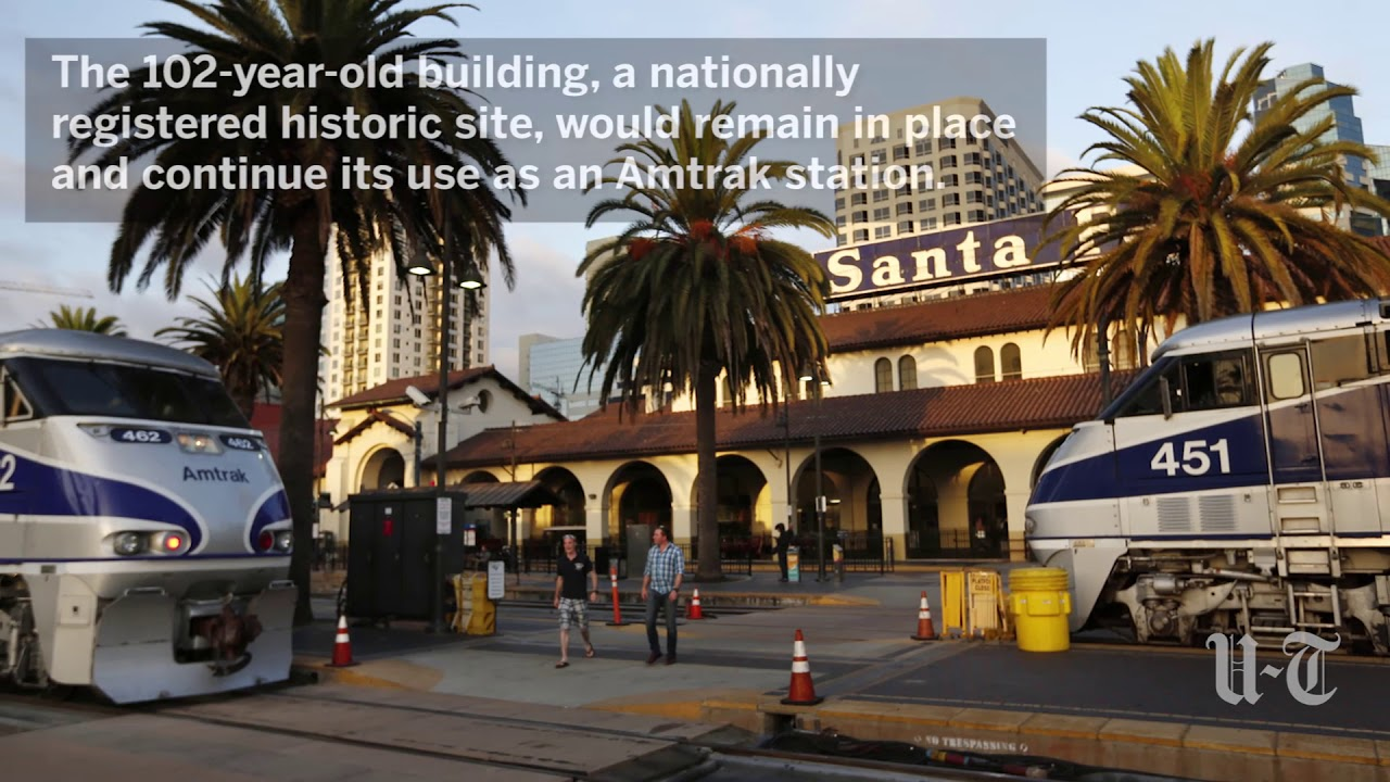 Santa Fe Depot Sale At 8 7m Completed The San Diego Union Tribune