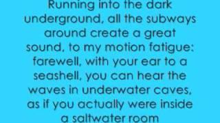 owl city - the saltwater room lyrics